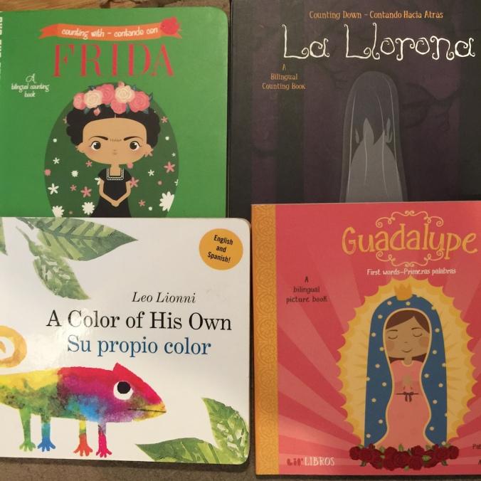 bilingual board books