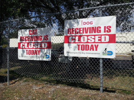 receiving closed