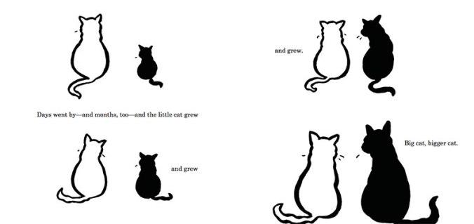 image big cat little cat