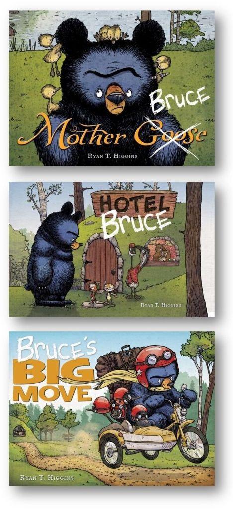 3bruce books