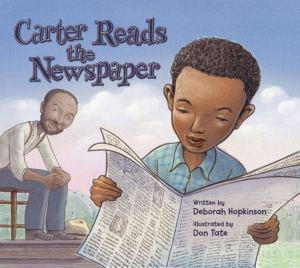 Carter reads