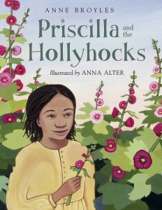 priscilla hollyhocks