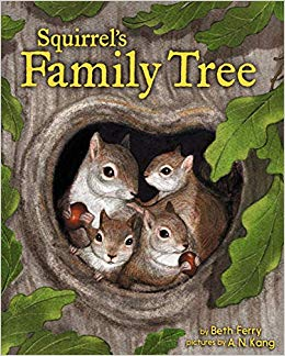 squirrels family tree