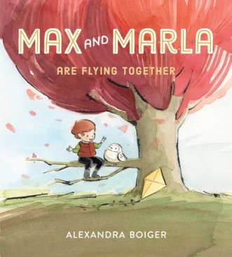 max and marla flying