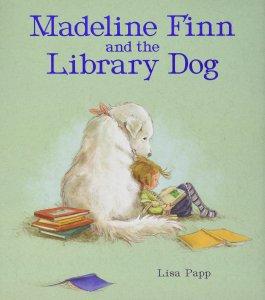 madeline finn library dog